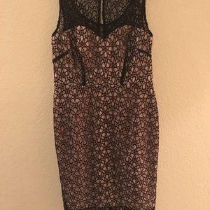 Ann Taylor Black lace dress